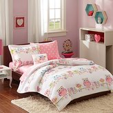 Mizone MZK10-085 Kids Wise Wendy Complete Bed and Sheet Set, Twin, Pink