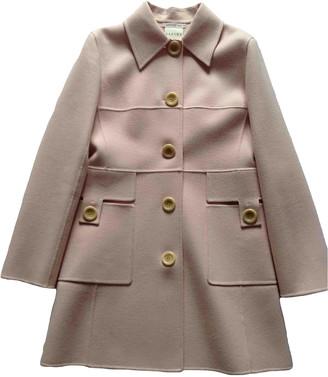 Celine Pink Wool Coats