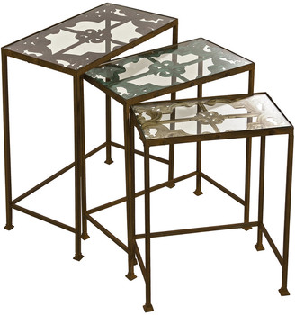 IMAX Worldwide Home Set Of 3 Torry Nested Tables