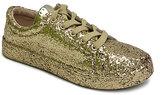 Bamboo Gold Glitter Grand-Slam Sneaker