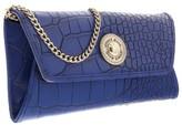 Versace EE3VOBPN3 E202 Blue Wallet On A Chain