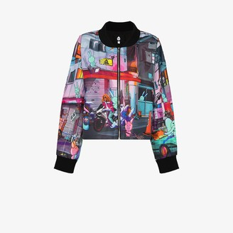 Natasha Zinko Printed Bomber Jacket
