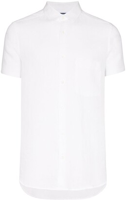 Frescobol Carioca Button-Down Short-Sleeve Shirt