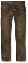 Fabric-Brand & Co - Cairo Slim-Fit Washed Selvedge Denim Jeans