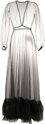 Alchemy Sheer Tulle Dress