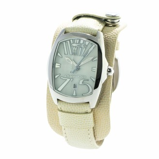 Chronotech Womens Analogue Quartz Watch with Leather Strap CT2039L-20