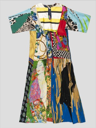 RIANNA + NINA Multi Color Hippie Dress