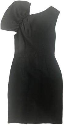 Dice Kayek Black Wool Dress for Women