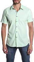 Jared Lang Short Sleeve Semi-Fitted Shirt