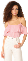 BB Dakota Delafield Ruffle Top