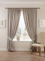Christy Palermo Curtains 66X72 Silver Grey