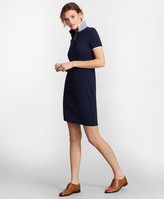 Brooks Brothers Stretch Cotton Pique Polo Dress