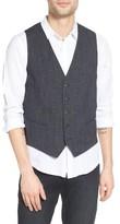 BOSS ORANGE Men's Bacer Denim Vest