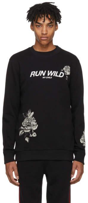 Givenchy Black Run Wild Sweatshirt