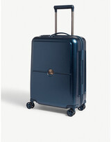 Delsey Night Blue Turenne Four Wheel Suitcase, Size: 55cm