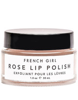 French Girl Organics Rose Lip Polish in Neutral.