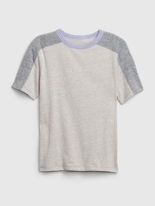 Gap Kids Colorblock Short Sleeve T-Shirt