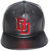 Bioworld Men's Licensed Daredevil PU Leather Snapback Hat O/S