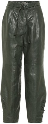 Ulla Johnson Navona leather pants