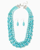 Charming charlie Crete Beaded Strands Necklace Set