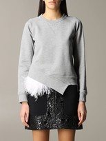 N°21 N.21 N 21 Sweatshirt N ° 21 Sweatshirt With Feather Inserts