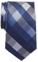 Isaac Mizrahi Large Check Silk Tie