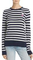 Aqua Stripe Bunny Intarsia Sweater - 100% Exclusive
