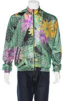 Y-3 Floral Mesh Hooded Jacket
