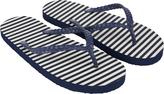 Accessorize Scallop Stripe EVA Flip Flops