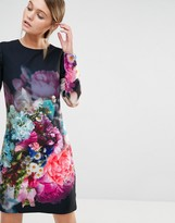 Ted Baker Vyr Tunic Dress in Focus Bouquet Print