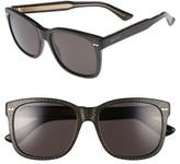 Gucci Women's 56Mm Sunglasses - Black/ Grey