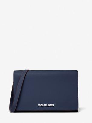 MICHAEL Michael Kors Jet Set Large Saffiano Leather Convertible Crossbody Bag
