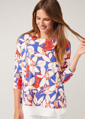 Phase Eight Mera Floral Double Layer Top