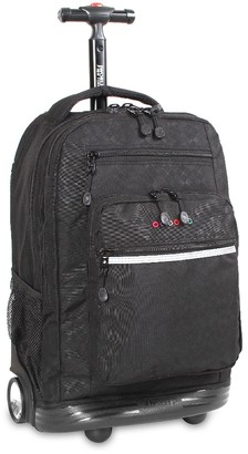 "J World 18"" Sundance Rolling Backpack with Laptop Sleeve -"
