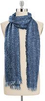 Collection 18 Herringbone Knit Runway Wrap