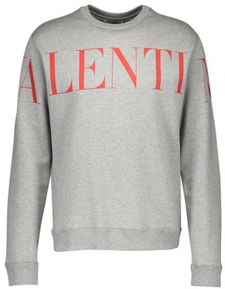Valentino New Logo round neck cotton jumper