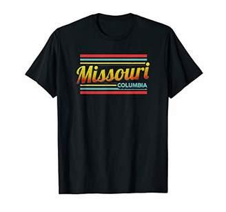 Columbia Missouri Vintage Souvenir Gift 70s 80s Style T-Shirt