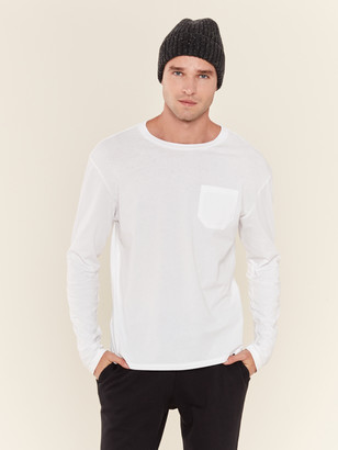 Richer Poorer Long Sleeve Crew Pocket T-Shirt