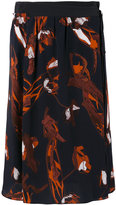 Dorothee Schumacher - printed midi skirt - women - Silk/Polyester/Viscose - 1