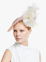 Bundle MacLaren Millinery Verity Silk Roses Disc Occasion Hat, Nude/Ivory