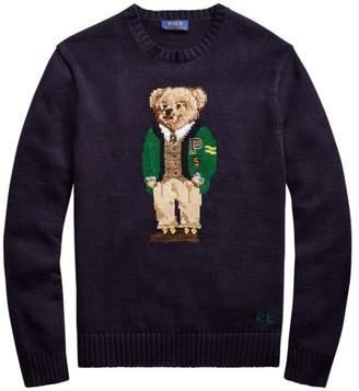 Polo Ralph Lauren Bear Cotton Linen Sweater