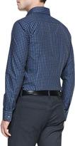 HUGO BOSS Gingham Button-Down Shirt, Navy