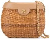 Chanel Pre Owned basket style shoulder bag