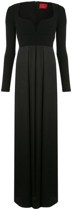 SOLACE London Plunge Neck Jumpsuit