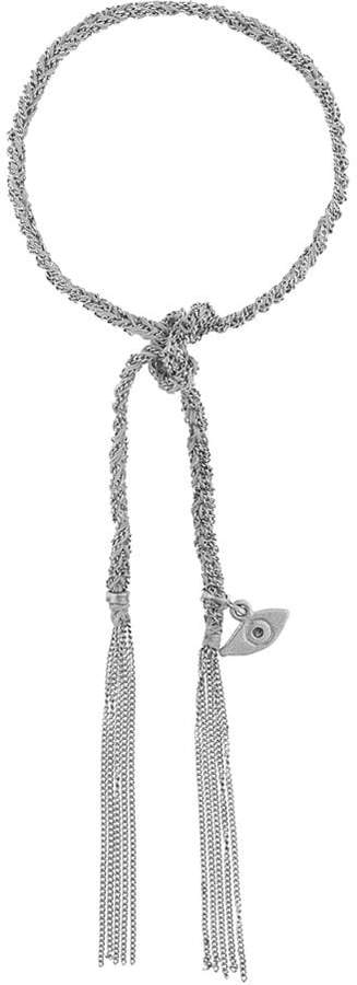 Carolina Bucci Evil Eye Charm with Blue Diamond