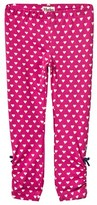 Hatley Pink Heart Print Leggings