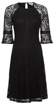 Dorothy Perkins Womens Dp Petite Black 'Tilly' Fit And Flare Dress, Black