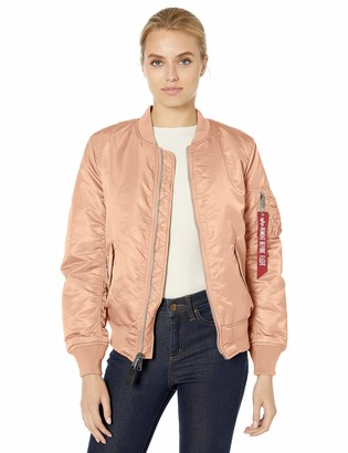 Alpha Industries Women's MA-1 Blood CHIT Flight Jacket W