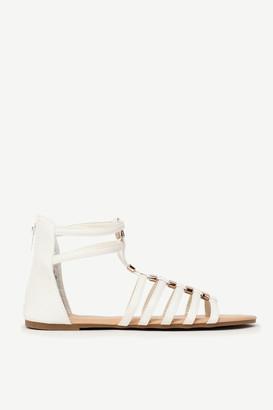 Ardene Faux Leather Gladiator Sandals