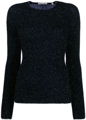 Our Legacy Metallized Fitted Jumper